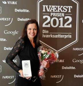 Ivækst Prisen 2012